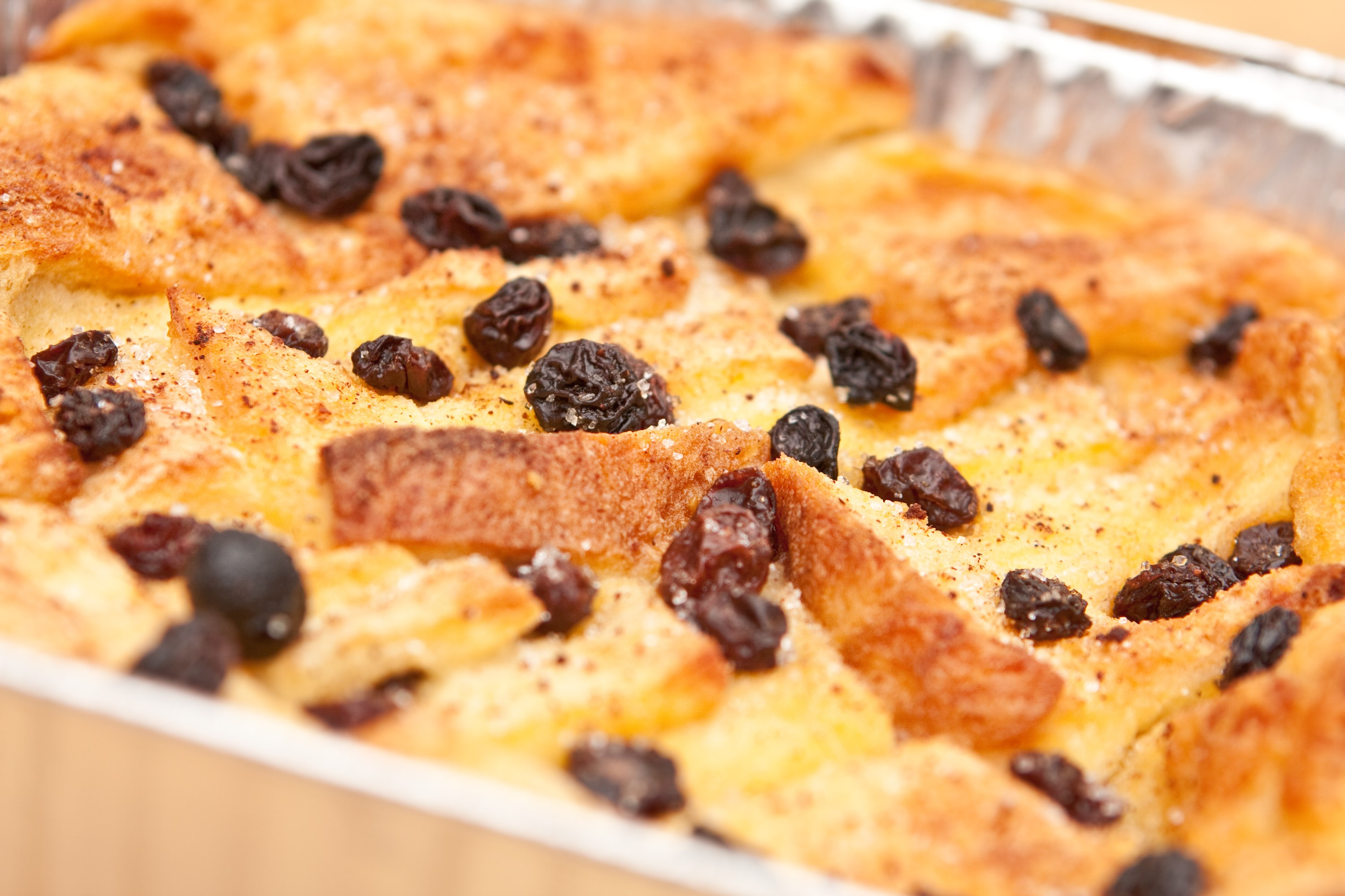 Bread and butter pudding Image